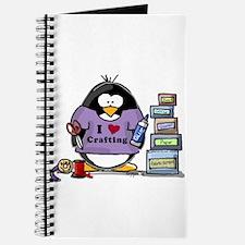 I love crafting penguin Journal