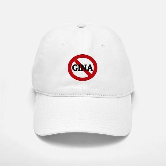 Anti-Gina Baseball Baseball Cap