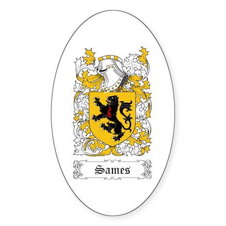 Sames Sticker (Oval)