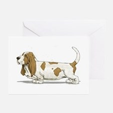 Basset Hound Greeting Cards (Pk of 10)