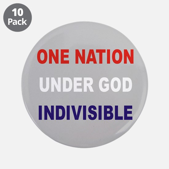 "One Nation 3.5"" Button (10 pack)"