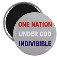 "One Nation 2.25"" Magnet (10 pack)"