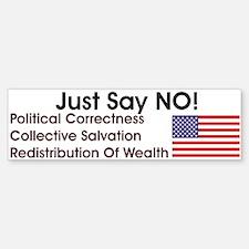 Just Say No! Sticker (Bumper)