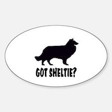 Got Sheltie? Decal
