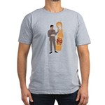 Mad Men Salvatore Men's Fitted T-Shirt