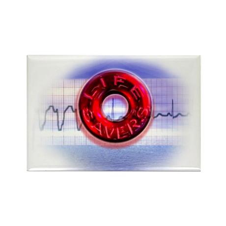 LIFESAVER Rectangle Magnet