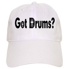 got drum cross Baseball Cap