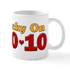 Born Lucky 10-10-10 Mug