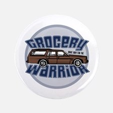 """Grocery Warrior 3.5"""" Button (100 pack)"""