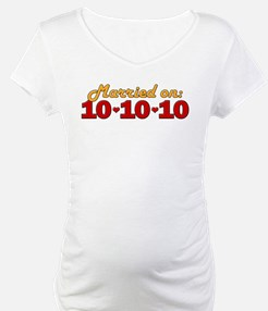 Married On 10/10/10 Shirt