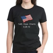 Pro Beck's Faith Hope & Charity Women's T-Shir