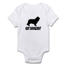 Got Cavalier? Infant Bodysuit