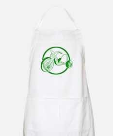 Green Tricycle BBQ Apron