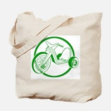 Green Tricycle Tote Bag