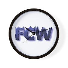 FCW Wall Clock