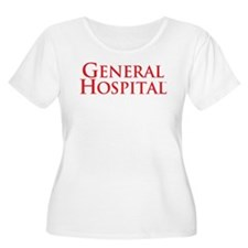 GH Red Stacked Women's Plus Size T-Shirt