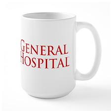 GH Red Stacked Large Mug