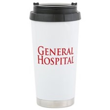 GH Red Stacked Stainless Steel Travel Mug