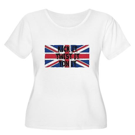 TON IT Women's Plus Size Scoop Neck T-Shirt