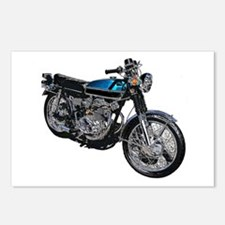 Motorcycle Postcards (Package of 8)