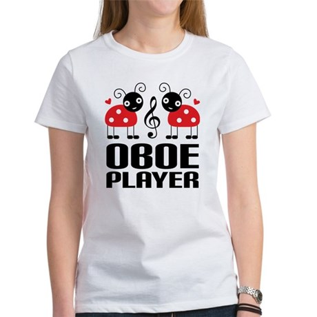 Ladybug Oboe Music Women's T-Shirt