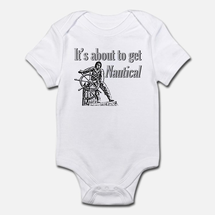 Its about to get Nautical-Fis Infant Bodysuit