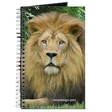 Lion - close up Journal