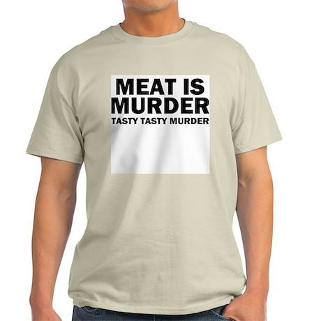 Tasty Tasty Murder Light T-Shirt