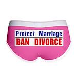 Protect Marriage | Ban Divorc Women's Boy Brief