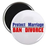 Protect Marriage | Ban Divorc Magnet