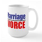 Protect Marriage | Ban Divorc Large Mug