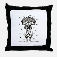 Cute Tribal stars Throw Pillow