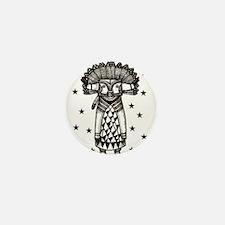 Cute Tribal stars Mini Button