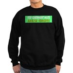 Stop Government Waste Sweatshirt (dark)