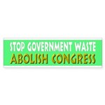 Stop Government Waste Sticker (Bumper 50 pk)