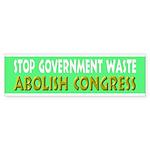 Stop Government Waste Sticker (Bumper 10 pk)