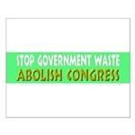 Stop Government Waste Small Poster