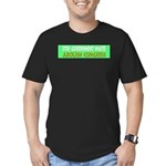 Stop Government Waste Men's Fitted T-Shirt (dark)