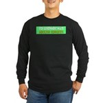 Stop Government Waste Long Sleeve Dark T-Shirt