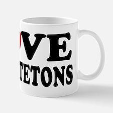 I Love Grand Tetons Mug