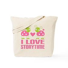 Ladybug Storytime Tote Bag