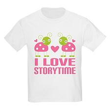 Ladybug Storytime T-Shirt