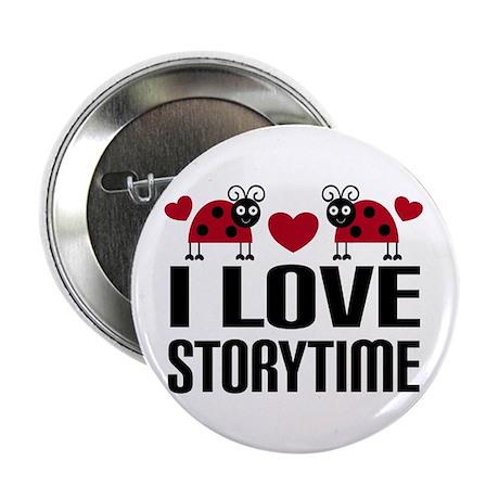 "Ladybug Storytime 2.25"" Button"