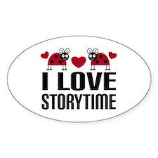 Ladybug Storytime Decal
