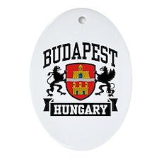 Budapest Hungary Ornament (Oval)