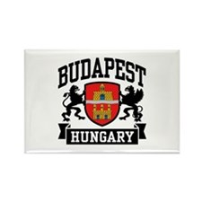 Budapest Hungary Rectangle Magnet