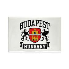 Budapest Hungary Rectangle Magnet