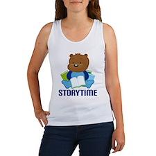 Teddy Bear Storytime Women's Tank Top