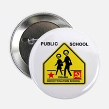 """INDOCTRINATE THE KIDS 2.25"""" Button (10 pack)"""