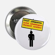 """INDOCTRINATE THE KIDS 2.25"""" Button"""
